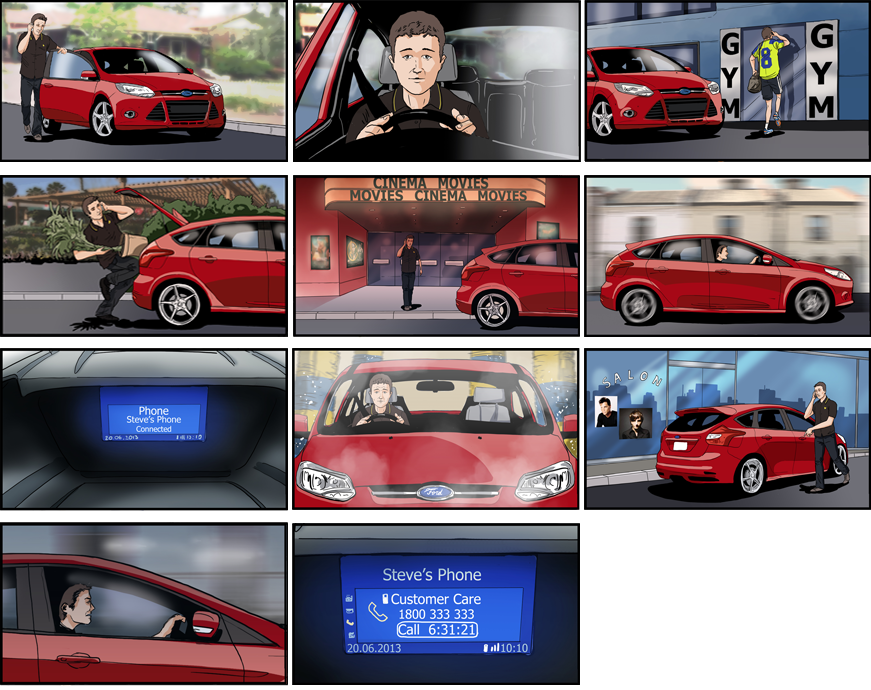 storyboard-ford-focus-onhold