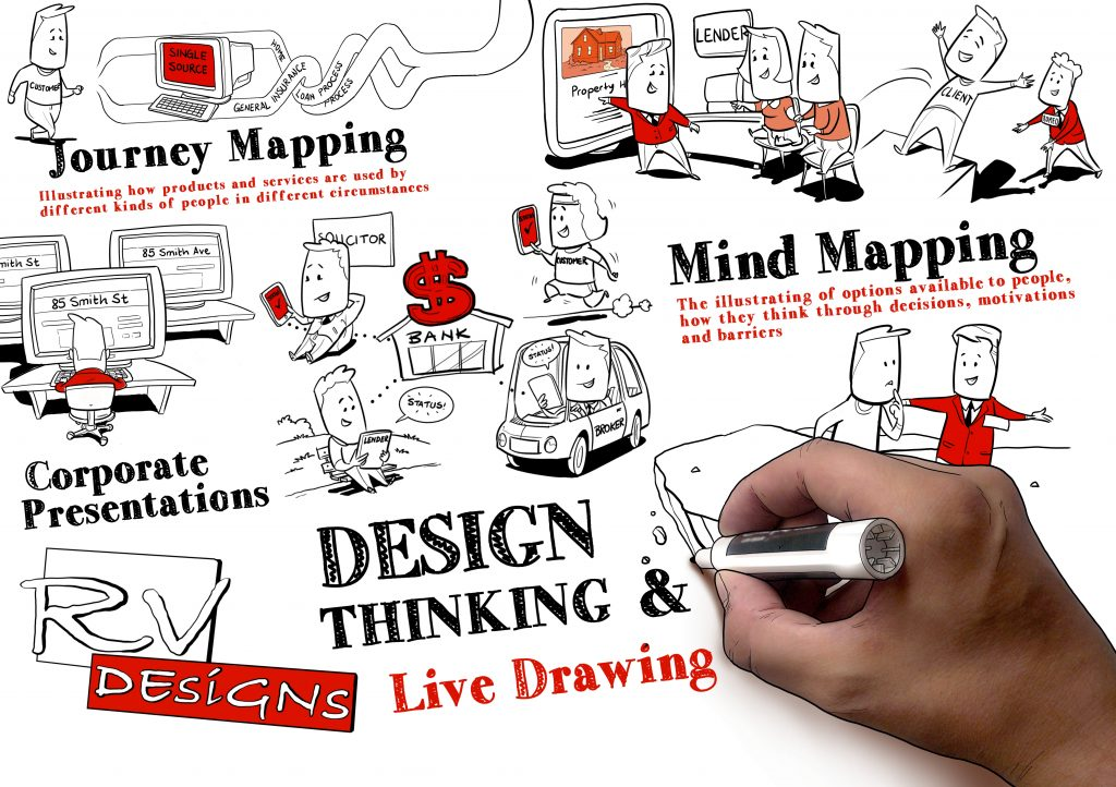 Live Drawing Card for website